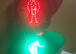Pedestrian Crossing Signal Lights