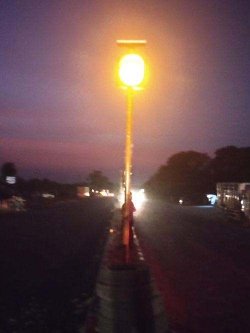 Solar Amber Blinker Lights